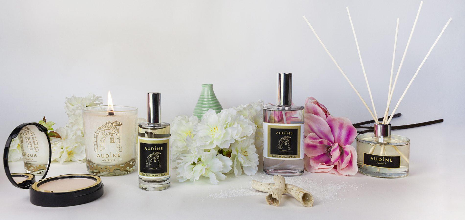 audine bougie annecy parfum ambiance